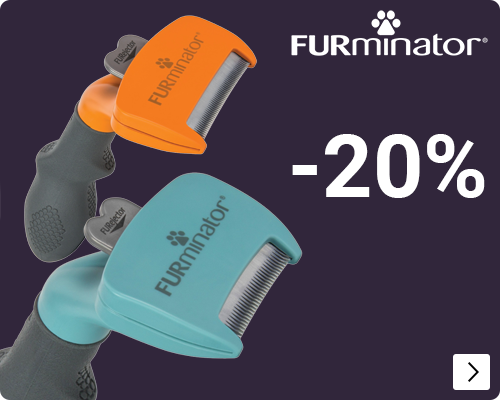 Furminator 20% korting - DOG CAT
